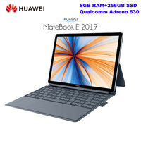 Original HUAWEI MateBook E Notebook 12.0'' FHD Screen Windows 10 Qualcomm SDM850 Octa Core 8GB+256GB 13.0MP Fingerprint Laptop