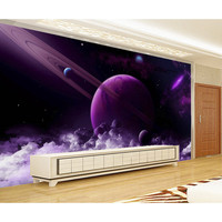 3D Custom Photo Wallpaper For Walls Printing mural Spectacular universe planets Wall paper For Living Room Home decora Good #201
