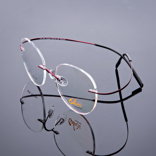 Imported B Titanium Exceed Elastic Exceed Light The Poetry Section Frame Spectacle Frame Eye Frame Glasses