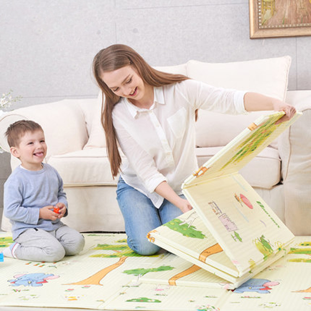 XPE 200*150cm Infant Foldable Baby Play Mat Thickened Tapete Infantil Home Baby Room Puzzle Mat Kid Toddler Crawl Play Pad    XPE 200*150cm Infant Foldable Baby Play Mat Thickened Tapete Infantil Home Baby Room Puzzle Mat Kid Toddler Crawl Play Pad