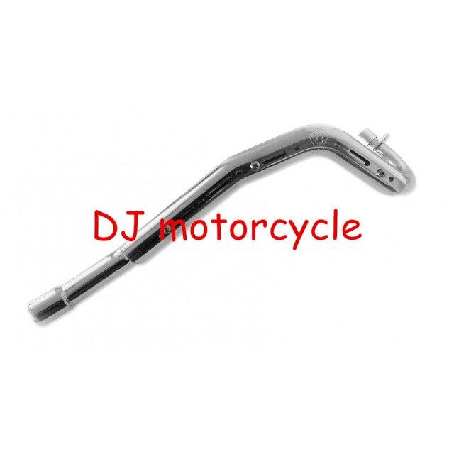 38MM Modified Exhaust Muffler Pipe For Kawasaki Motocross Dirt Bike KLX110 Pit Bike Muffler Pipe 70cc 110cc 125cc 150cc