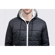 GustOmerD Brand Winter Coat Men Casual Hoodied Patchwork Cotton Padding Parka Men Clothing Winter Jacket Men