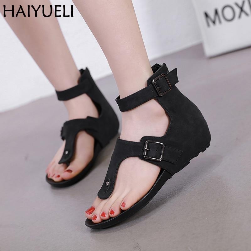 Sandalias Mujer 2019 Women Flat Sandals