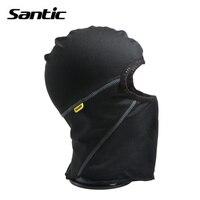 SANTIC Skiing Hat Thermal Neckerchief Winter Snow Hat Outdoor Sport Snowboarding Fleece Ski Bib Masks Windproof