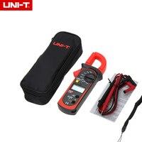 UNI-T UT200A LCD Digital Grampo Multímetro Com Backlight Ohm DC AC Voltímetro AC Amperímetro