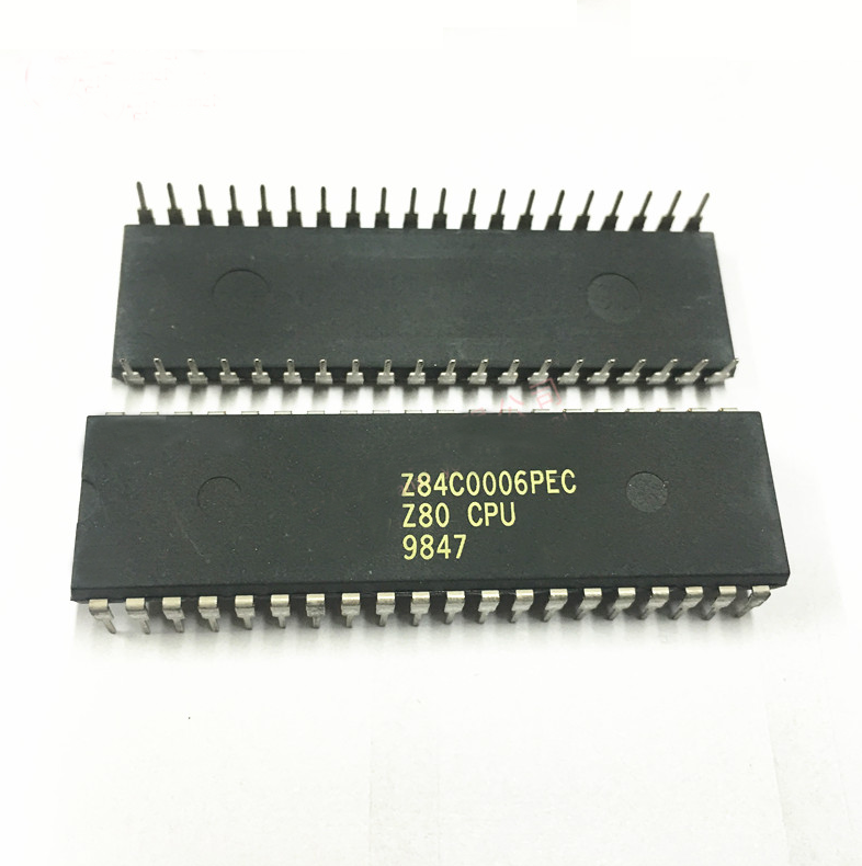 Z84C0006PEC Z80 CPU DIP-40 Central Processing Unit Integrated Circuit IC