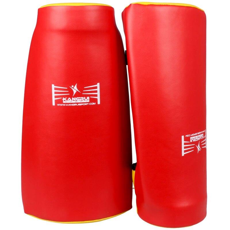 Artificielle En Cuir TKD Coup mitaines arc style mma muay thai formation cible combats poinçon pad courbe de boxe tapis de main garde conception