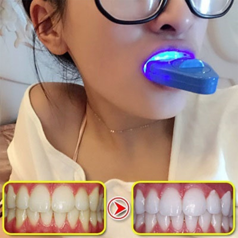 Dental Teeth Whitening Light LED Bleaching Teeth Accelerator For Whitening Tooth Cosmetic Laser Women Beauty Health(China)