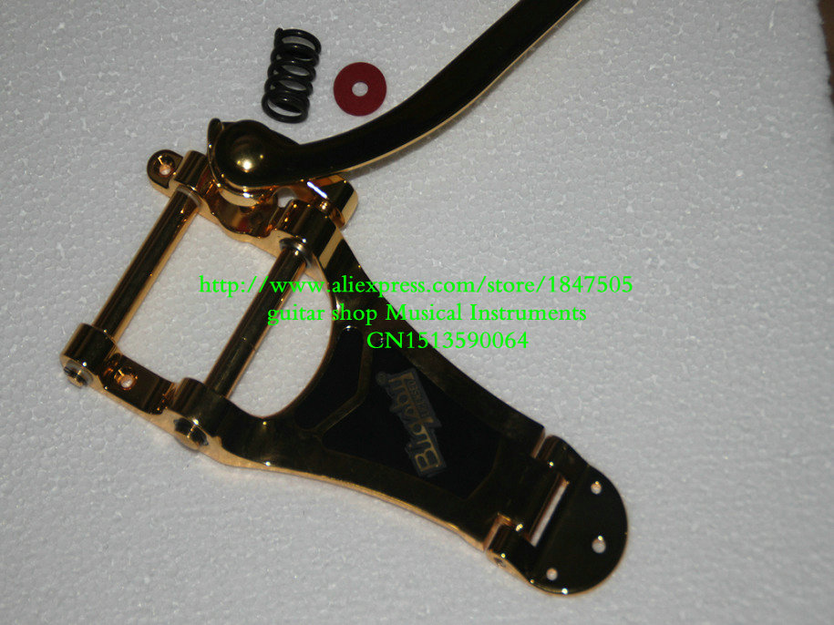 Фотография Guitar For golden Electric Guitar Tremulant golden OEM Musical instruments Free Shipping