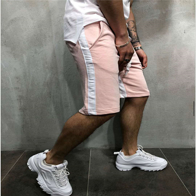 2019 summer new cotton explosion models stretch breathable eBay Amazon station street fashion mens trousers