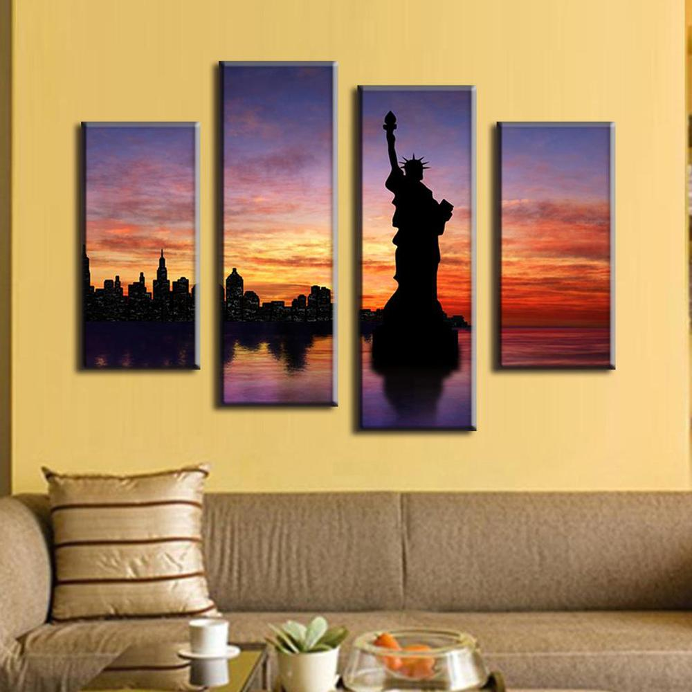 Luxury Wall Art Sets Of 4 Collection - The Wall Art Decorations ...