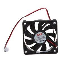 Desktop PC Case DC 12V 0.16A 60mm 2 PIN Cooler Cooling พัดลม