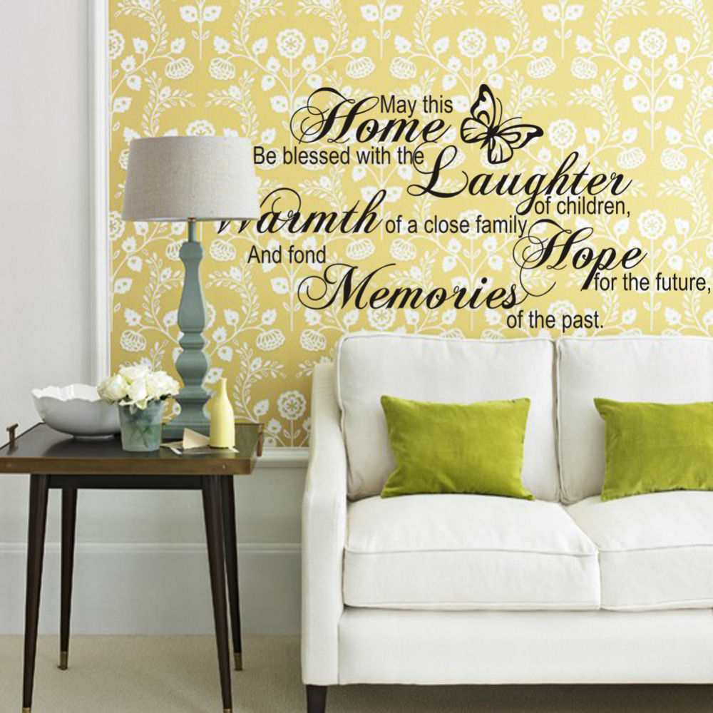 Home laughter warmth hope memories wall letters stickers art vinyl home laughter warmth hope memories wall letters stickers art vinyl quotes saying wall decals for home living room bedroom decor in wall stickers from home amipublicfo Image collections