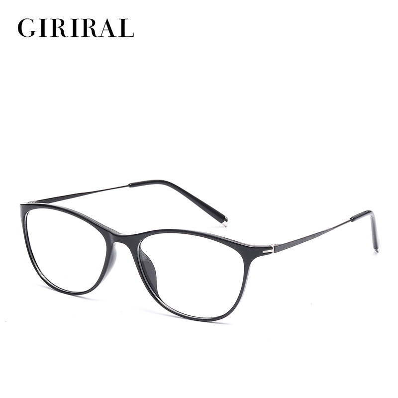 TR90 women eyeglass frames round myopia brand clear designer optical spectacle frame #YX0267-1