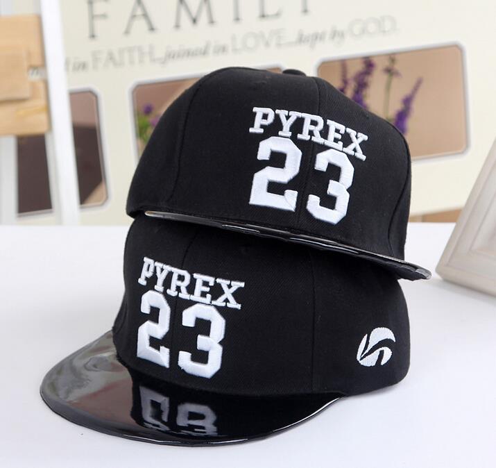 Prix pour Vente chaude PYREX 23 Casquettes Snapback Chapeaux Rue Mode HBA Hip Hop Butin Casquettes de Baseball