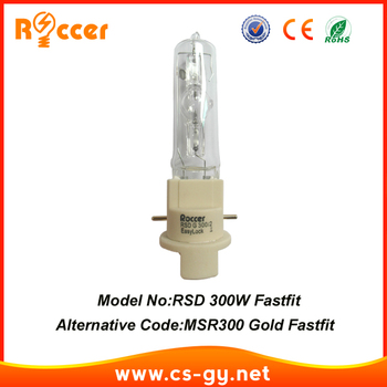 ROCCER FAST FIT 300W LAMP bulb for moving head beam 300 PGJX28 light MSD 300W fastfit 300