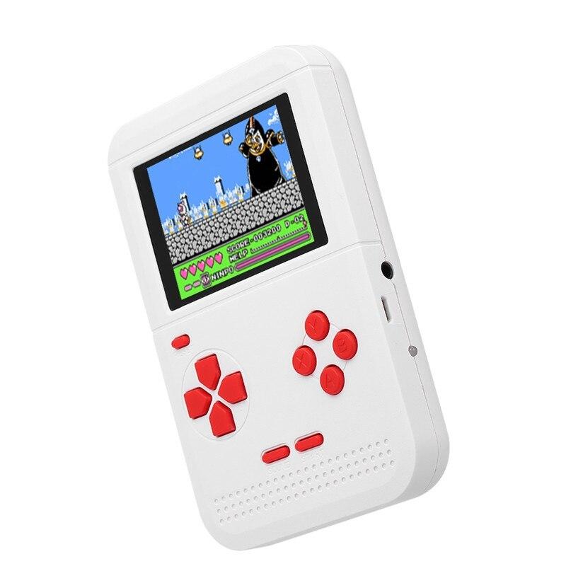 Abay 2019 Hot Q1 Retro Mini FC Nostalgia Tetris Handheld Children 300 Classic Games WH-09