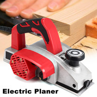 1000W Powerful Electric Planer 82mm Wood Hand Planer Aluminum Alloy Carpenter Woodworking DIY Wood Surface File Tools US Plug