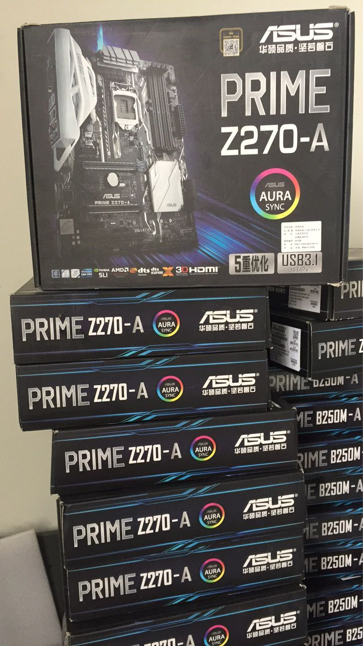 ASUS PRIME Z270-AR Computer Motherboard Support i7 7700k Quad Core