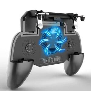 Image 1 - Многофункциональный мобильный игровой контроллер 3 в 1 power Bank/держатель подставки для телефона/сотовый телефонный радиатор, перезаряжаемый, охлаждающая подставка,
