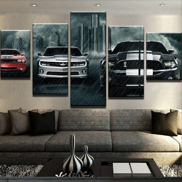 Wand Leinwand Kunstdruck Malerei Poster Wand Bild Für Home ...