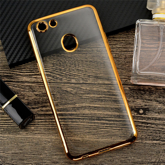 a6b47930ada602 For OPPO F5 Case A73 A73T Ultra Thin Plating Clear TPU Phone Case Silicone  Transparent Cover For OPPO F 5 Luxury Fundas (L0112)