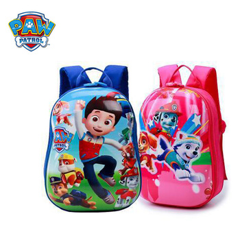 Paw patrol wholesale  Children's toys set kids bag school cute knapsack  kindergarten boys and girls backpack birthday gift toy paw patrol toys action figure kids bag school cute knapsack canine paw patrol toys puppy patrol backpack children toy gift