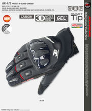 New arrival  GK-175 protected mesh gloves – Canossa   summer breathable glove