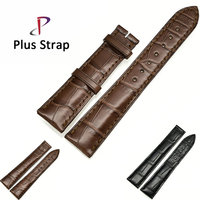 Plus Strap Alligator Skin Watch Band for Universal Watches Strap Replacement Genuine Leather Wristband no Buckle