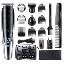 waterproof professional hair trimmer beard trimer body face hair clipper electric hair cutting machine haircut for men grooming