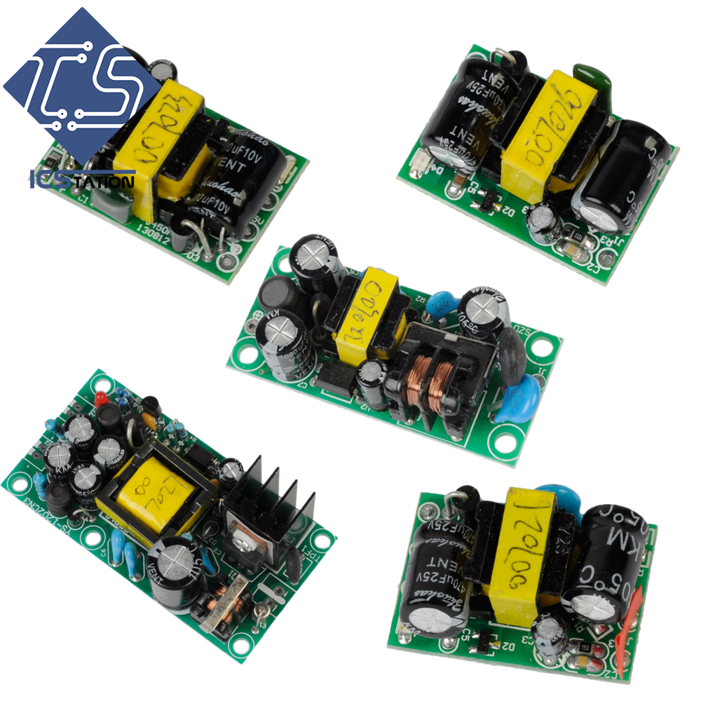 Power Module Series AC-DC Power Supply Buck Converter Step Down Module Dual Output 12V1A 5V1A Favorable Price dc dc step down converter 24v to dual output 15v isolated power module buck switching power supply a2415s 1w quality product