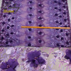 PanlongHome High Quality Voile African Lace Fabric With Beads Nigerian French Fabric With Sequins African 3D