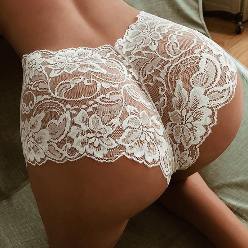 Summer Seamless Lace Sexy Net Yarn   Panties   Low waist within Temptation Underwear Women Lace transparent   panties   women Clearance