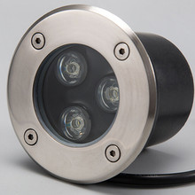 Wholesale 3x3W LED underground light lamp outdoor buried recessed floor Waterproof IP68 Landscape stair lighting 85-265V