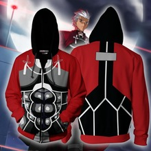 Fate/stay night Game Cosplay Anime Hoodie Sweatshirts Men Women Costume Jackets