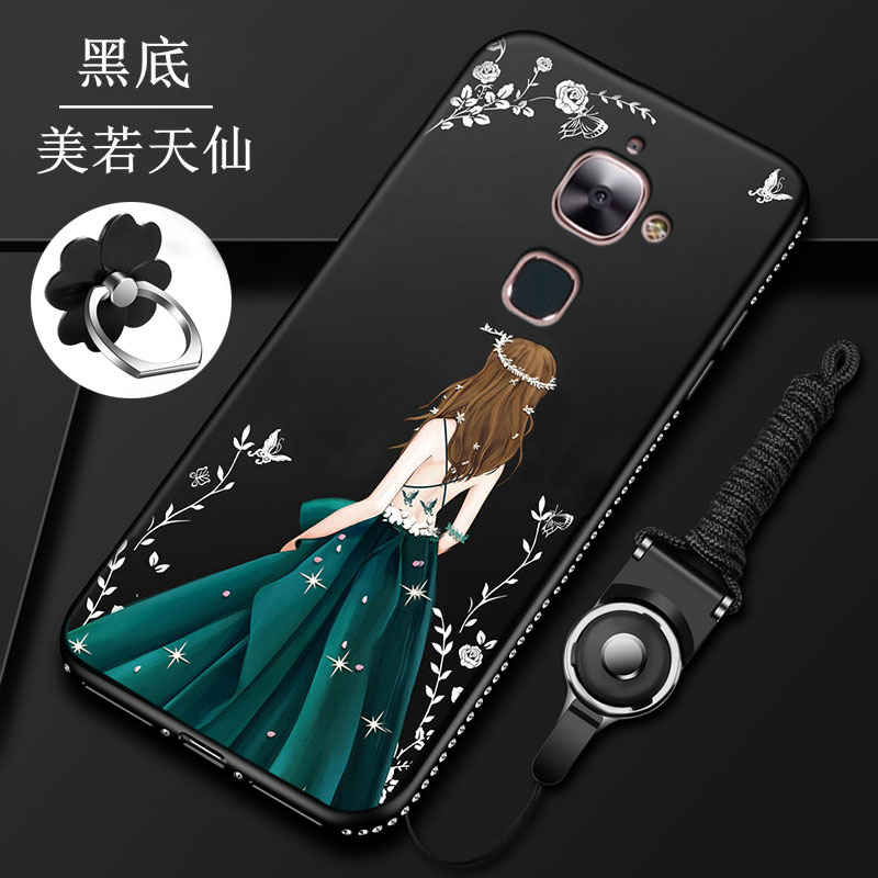 3 in 1 Fashion Jewelled Wedding Dress Girl Soft Silicone Back Cover Case For <font><b>Letv</b></font> <font><b>LeEco</b></font> <font><b>Le</b></font> <font><b>S3</b></font> X626 X622 <font><b>X522</b></font> Le2 X526 X520 X527 image