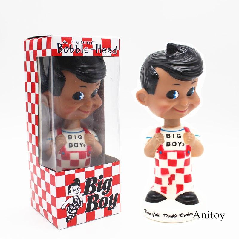 FUNKO Big Boy Wacky Wobbler Bobble Head Car Decoration PVC Action Figure Collection Toy Doll 7