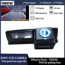 Linea Guida FUWAYDA SONY CCD CAR REAR VIEW Immagine Speculare CAMERA PER Toyota CAMRY Picnic Echo Verso/Yaris (NCP93) HARRIER altezza