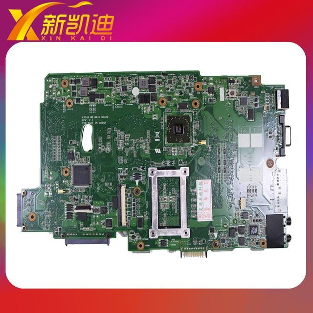 Para asus k51ac k51ae k70ae k70ac x7ac x7ae k51ab rev 2.1 unid placa principal 100% de trabajo placa madre del ordenador portátil