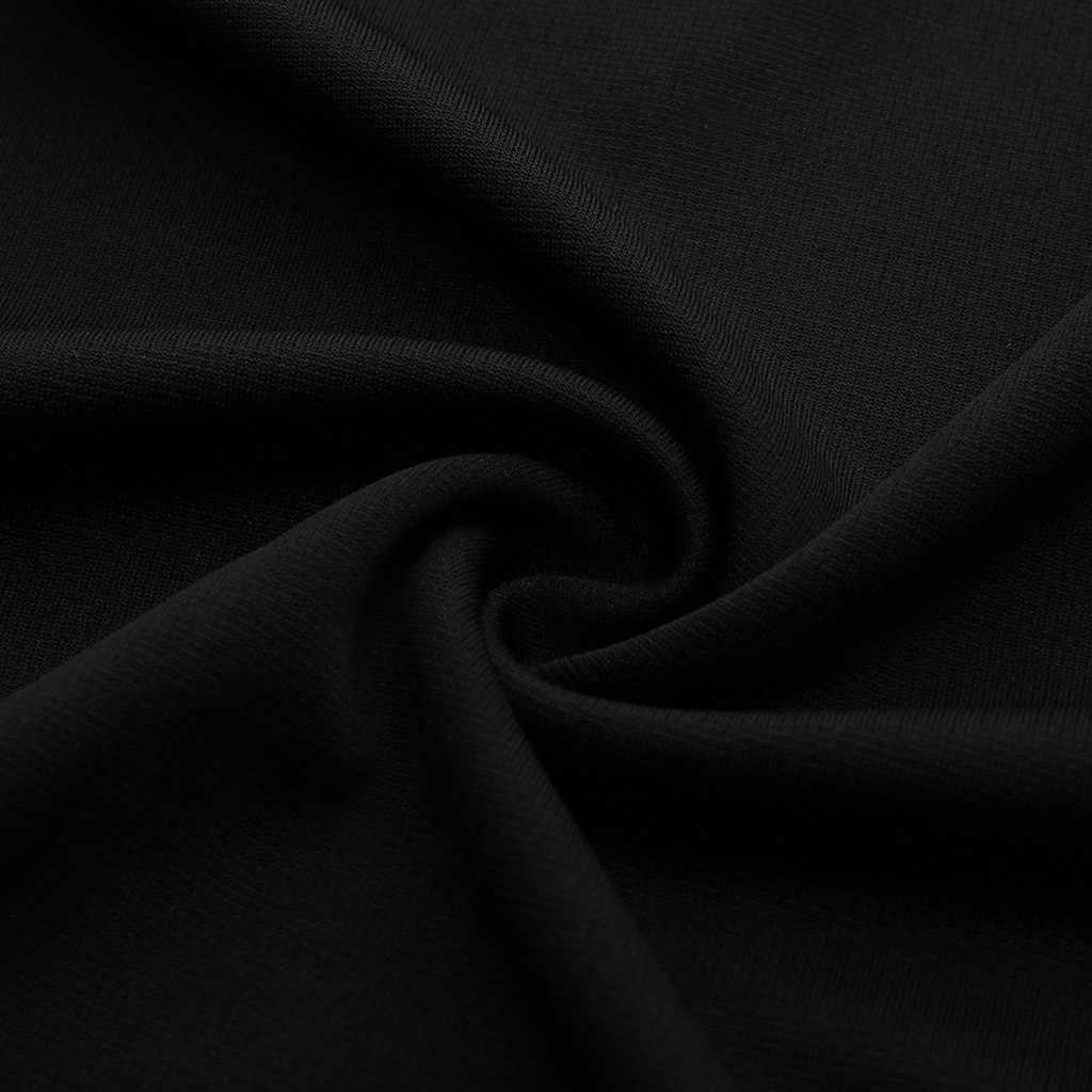 YOUYEDIAN Kadın tek renkli elbise Açık Göğüs V Yaka Fermuar Sıkı Uydurma seksi elbise kulüp mini # w30
