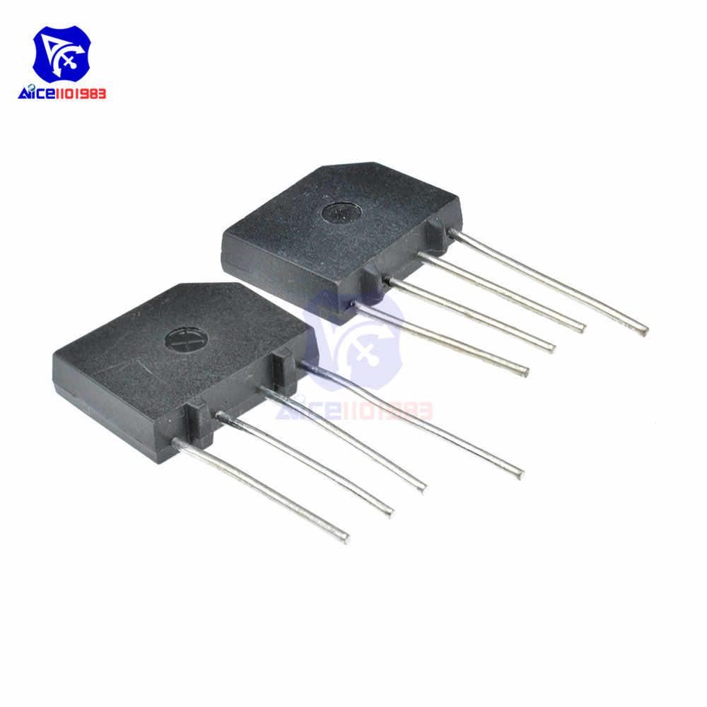 5 Teile/los Bridge Rectifier Diode KBP206 SIP-4 2A 600V Single Phase Bridge Rectifier Ursprüngliche Integrated Circuit
