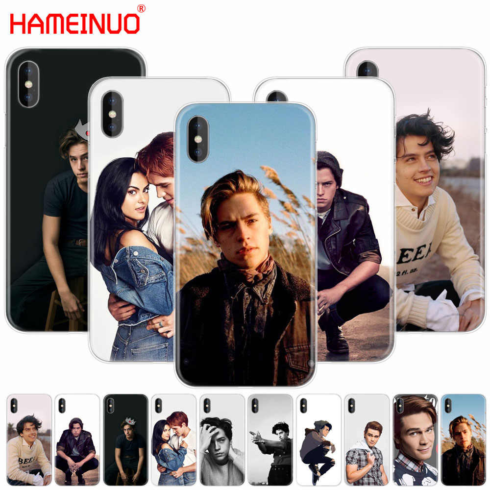 HAMEINUO American TV Riverdale Cole Sprouse cell phone Cover case for iphone X 8 7 6 4 4s 5 5s SE 5c 6s plus