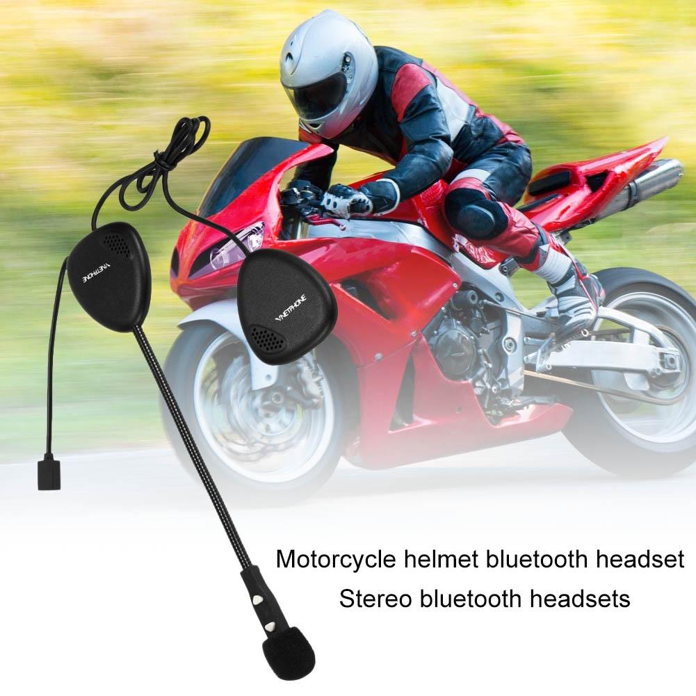 VNETPHONE Motorcycle Bluetooth Headset Helmet Wireless Headphone Handsfree Call Earphone Intercom Intercom CSL2017