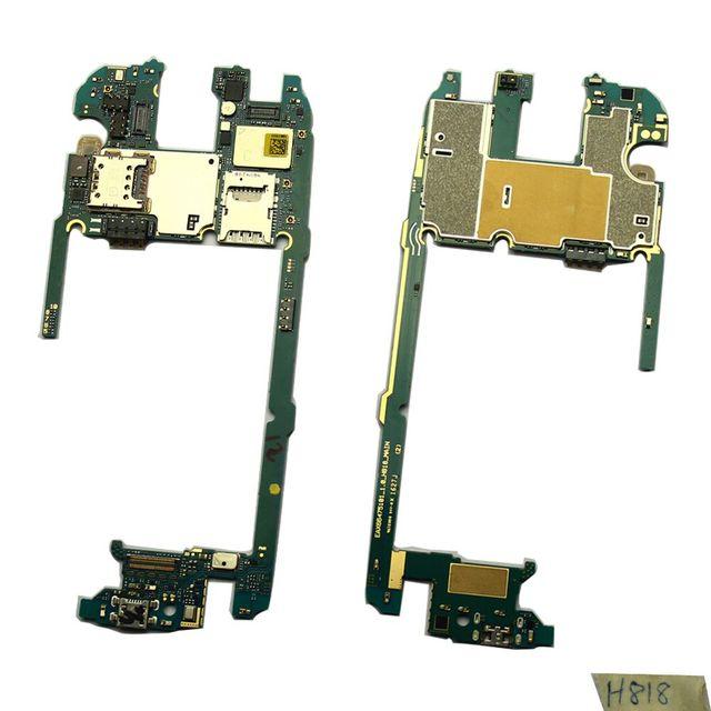 Para lg g4 h818 goodquatity reemplazar 32 gb placa lógica principal placa base placa base oem desbloqueado dual-sim