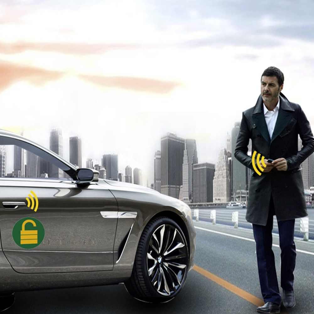 Para Peugeot 307 Auto Sistema de Segurança Do Alarme Do Carro Fecho Central Controlo Remoto Do Telefone APP IOS/Android Do Motor Do Carro Início PKE botão de parada de