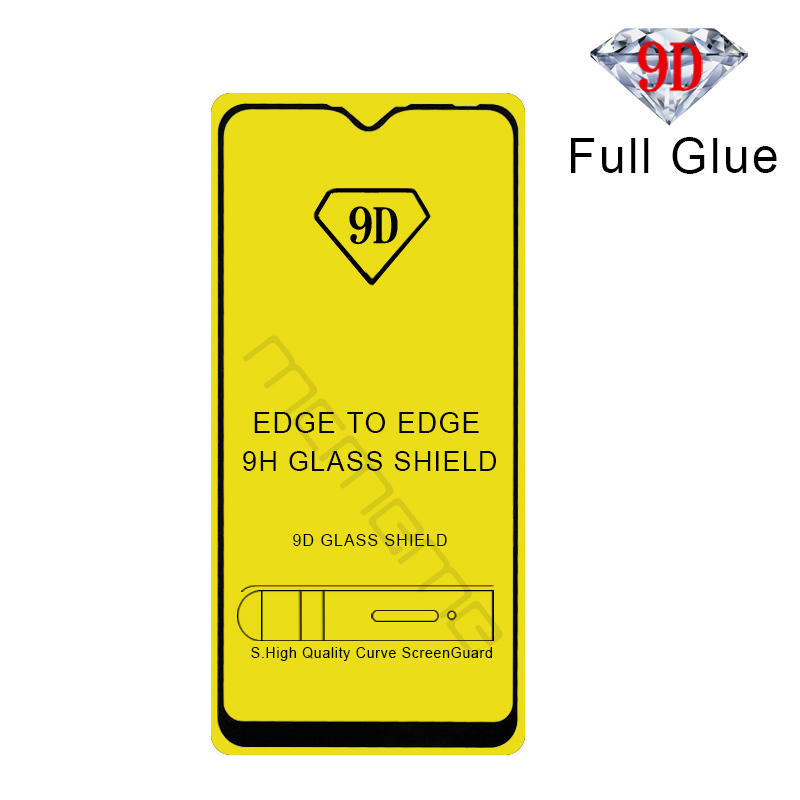 9D Arc Tempered Glass For OPPO K3 A9X Reno Z Full Glue Adhesive Coverage Screen Protector Transaparent Front Protective Film image