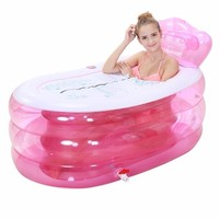 Badkuip Bucket Shampooer Banho Foot Basen Ogrodowy Opblaasbaar Hot Banheira Inflavel Adult Bath Tub Inflatable Bathtub