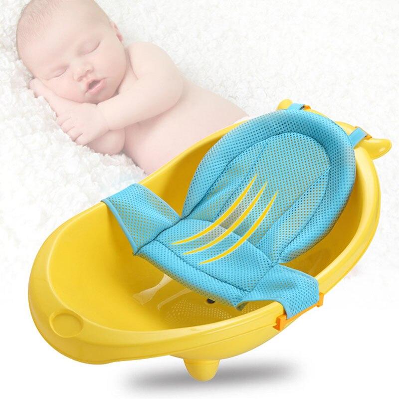 Baby Bad Mesh Sitz Unterstützung Hängematte Bade Badewanne Infant Care Dusche Einstellbare Sling Net @ Jlrh