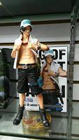 New Comic Anime One Piece Luffy's Brother King of Artist Fire Fist The Portgas D Ace Huge 26cm Figure Toys