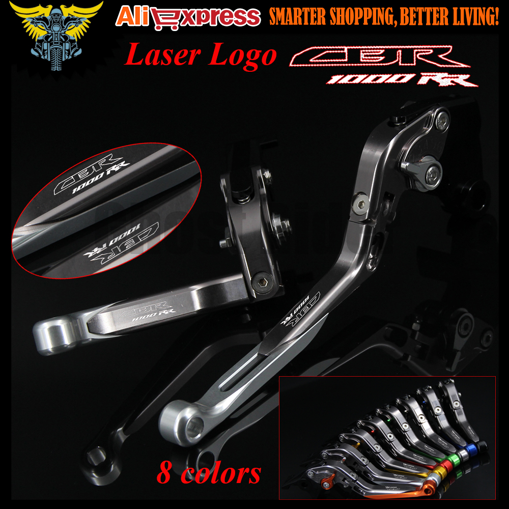 New Logo(CBR1000RR) Motorcycle Brake Clutch Levers For Honda CBR1000RR/FIREBLADE/SP 2008 2009 2010 2011 2012 2013 2014 2015 2016 arashi motorcycle radiator grille protective cover grill guard protector for 2008 2009 2010 2011 honda cbr1000rr cbr 1000 rr